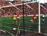 Gerd Muller gör mål mot Holland VM final 74
